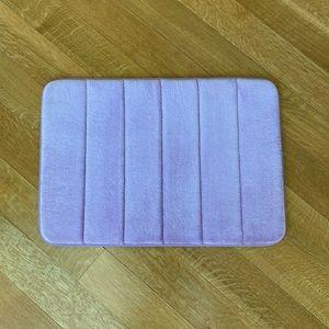 Memory Foam Bath Mat in Lavender Purple